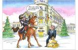 Weihnachtskarte Bernie Ecclestone