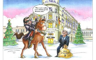 Weihnachtskarten von Ecclestone