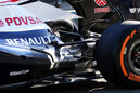 Williams FW34 Auspuff F1 2013