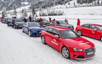 Wintertraining 2014, Fahrtraining, Bridgestone, Audi