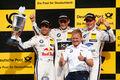 Wittmann - da Costa - Martin - BMW - Podest - DTM - Zandvoort - Samstag - 11.7.2015