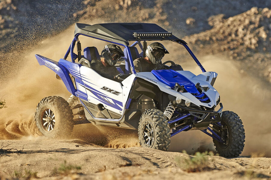 Yamaha side by side yxz1000r se der ultimative offroad for Yamaha side by sides