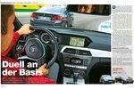 Vergleichstest BMW 316d gegen Mercedes C 180 CDI