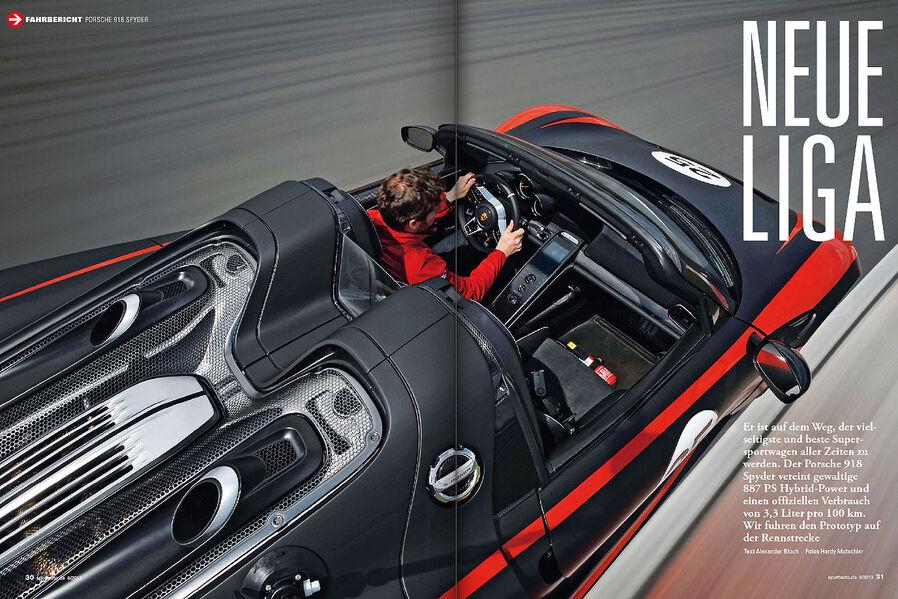 porsche 918 spyder first drive in sport auto link