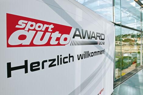 sport-auto Award 2012, Schild